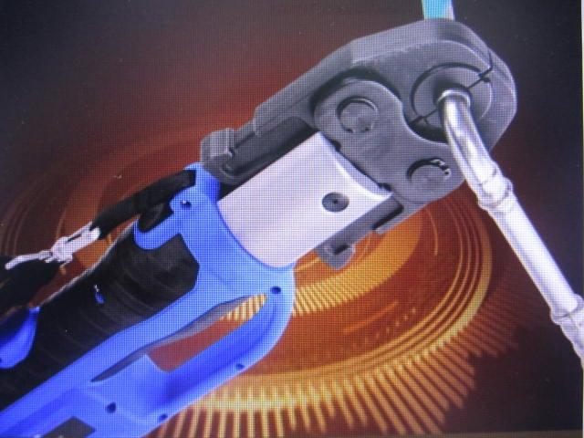 ZUPPER插電式自動回油不鏽鋼水管壓接工具.壓接機.壓接鉗