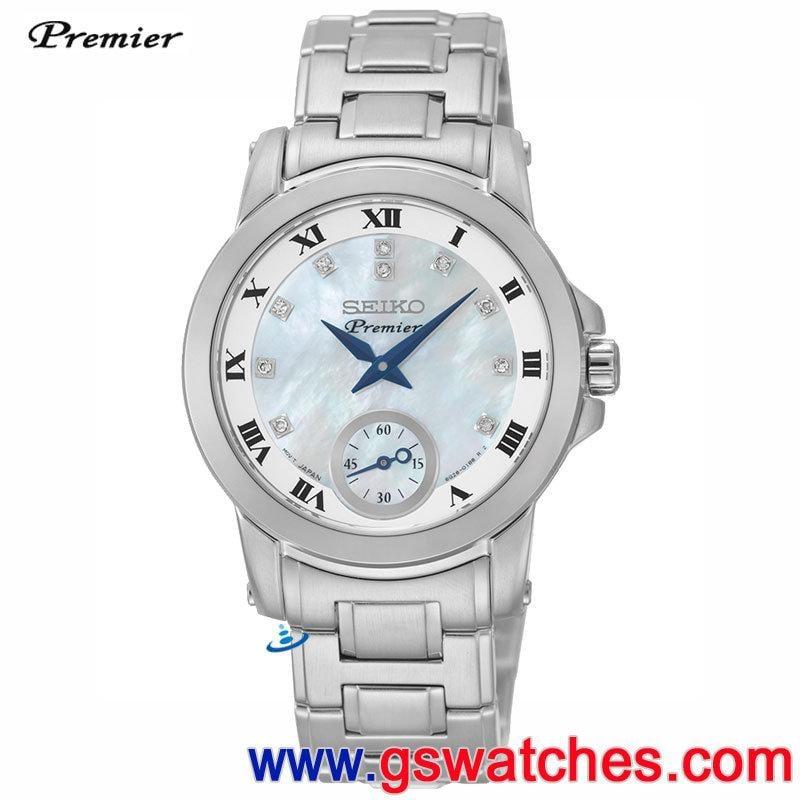 【金響鐘錶】全新SEIKO SRKZ61J1,PREMIER,公司貨,日本製,時尚女錶,藍寶石,6G28-00T0M