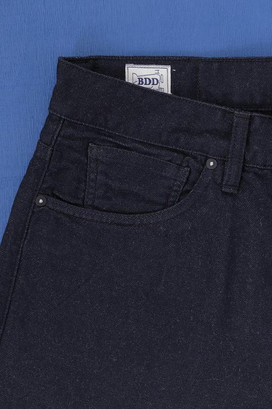 【Benzak 荷蘭職人品牌】B-01 Slim 9oz Wool Denim 義大利特殊羊毛混紡丹寧 / W29-34