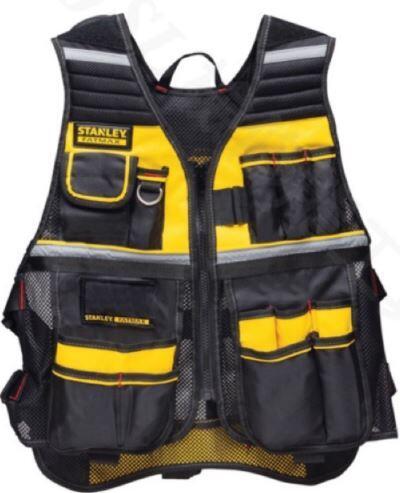 【威利小站】美國 STANLEY 史丹利 FMST530201 反光工作服 反光背心 工程背心 工作衣