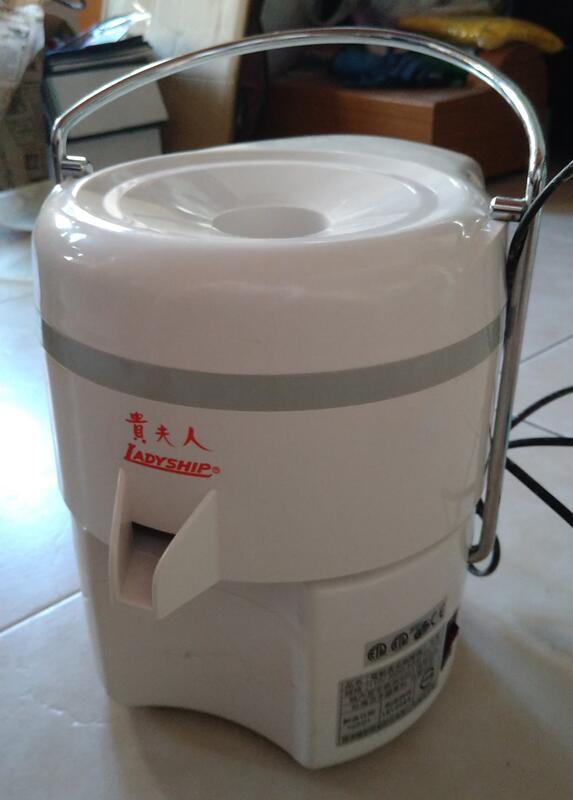 貴夫人 果菜榨汁研磨機 活性纖維素