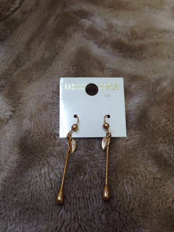 金葉子耳環