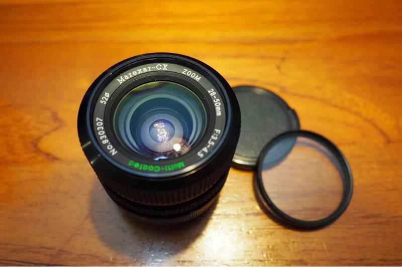 marexar-CX 28-50mm micro. FD接環