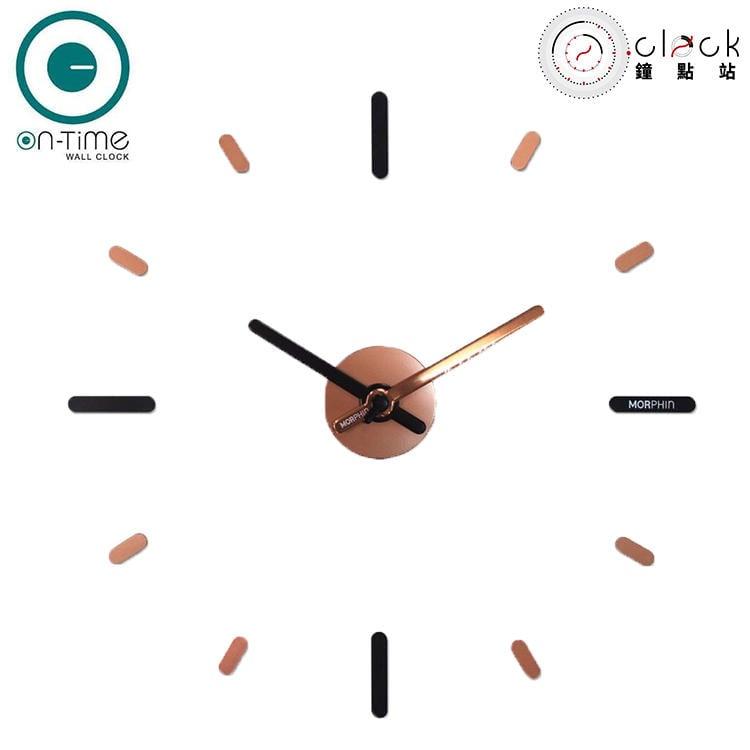 【鐘點站】On Time Wall Clock 金色-壁貼鐘-掛鐘.無損牆面.居家佈置