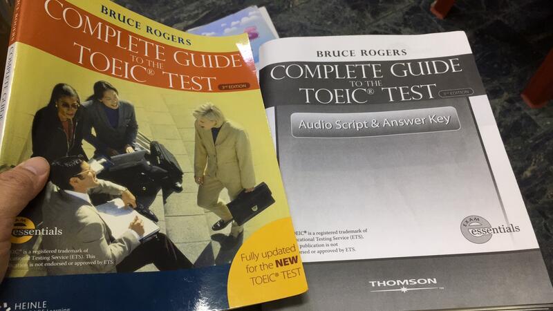 附解答本+光碟 COMPLETE GUIDE TOEIC TEST 3E 2006-ROGERS 約1/3劃記 M46