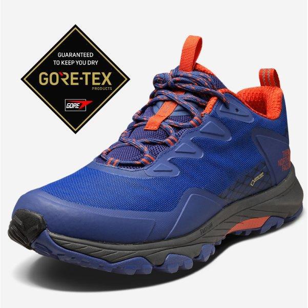 大里RV城市【美國 The North Face】零碼5折》Gore-Tex 女款防水透氣耐磨輕量健行登山鞋_39IS