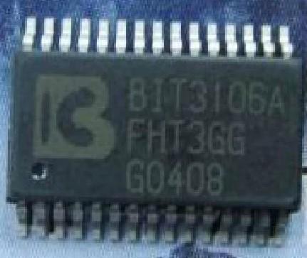 [二手拆機][含稅]BIT3106A BIT3106 背光板晶片 高效雙ZVS螢光燈控制器