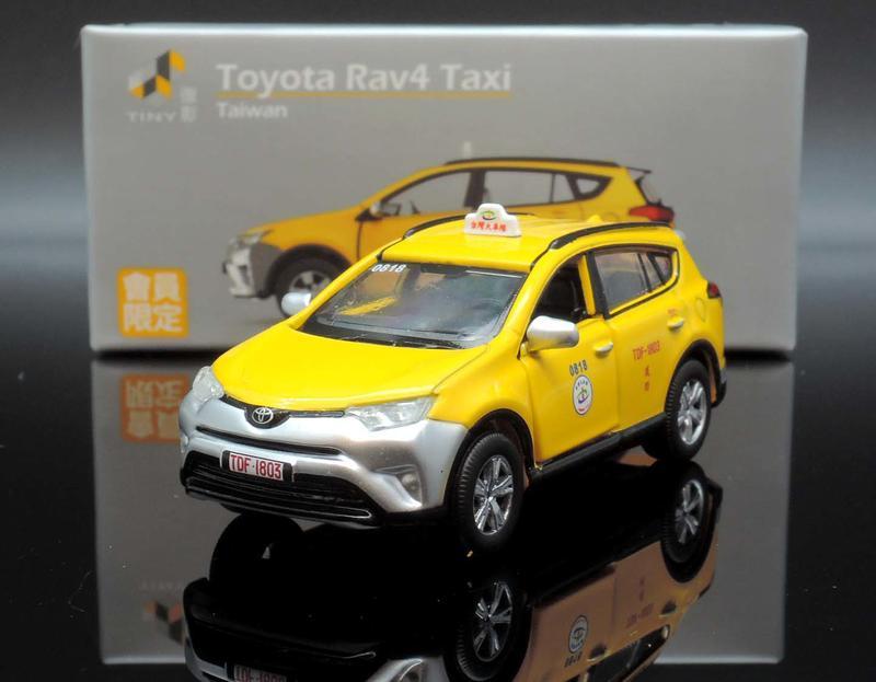【M.A.S.H】[現貨特價] TINY 台灣 會員限定 Toyota Rav4 Taxi 台灣計程車