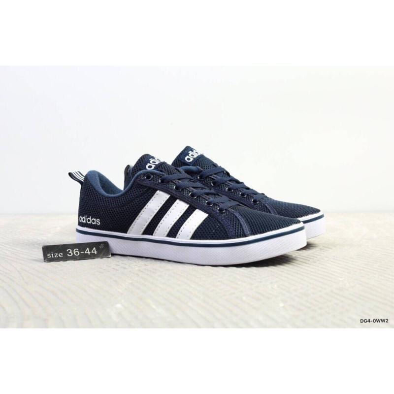 Adidas NEO 夏季男女鞋 輕便透氣網面運動板鞋 愛迪達運動鞋 休閒平底鞋 情侶款慢跑鞋