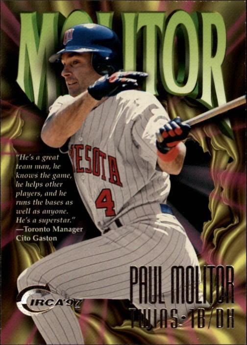 1997 Circa #300 Paul Molitor