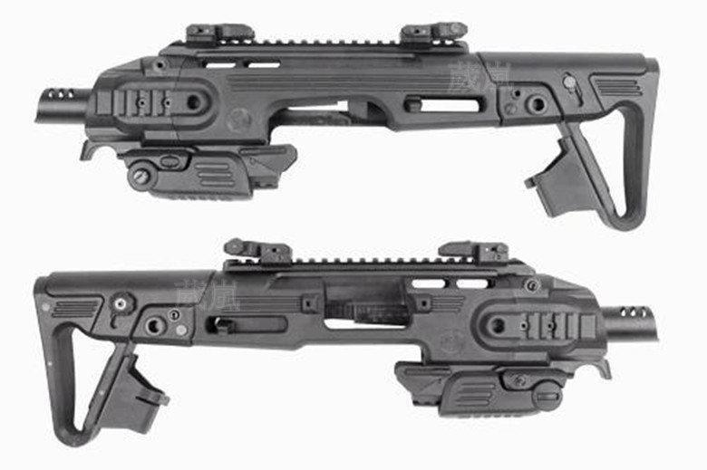 CAA GLOCK 衝鋒槍 套件 (機槍手槍烏茲BB槍瓦斯槍玩具槍CO2槍克拉克 UZI M11 T77 G17 G18