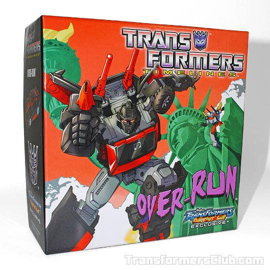 玩具主義) 變形金剛 經典 合體戰爭 Botcon TFCC 2012 限定版 Over-Run 流浪漢 全新正版盒裝