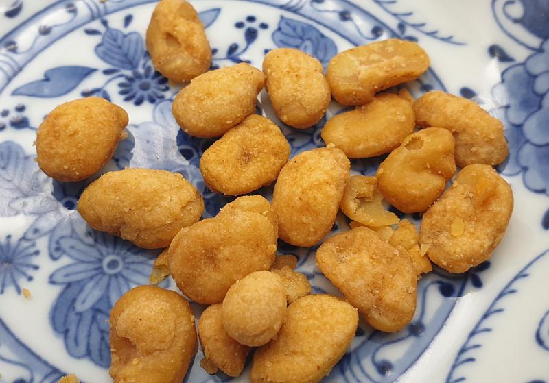 【回甘草堂】NO.1蟹黃風味蠶豆 2700克  聚會派對 休閒零嘴 泡茶好搭檔