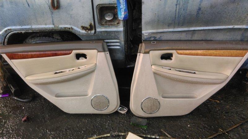 福特 TIERRA LS vxi 1.6 2001後 原廠 後 左 右 皮製 內飾板 內門板「兩片核桃木不同色」