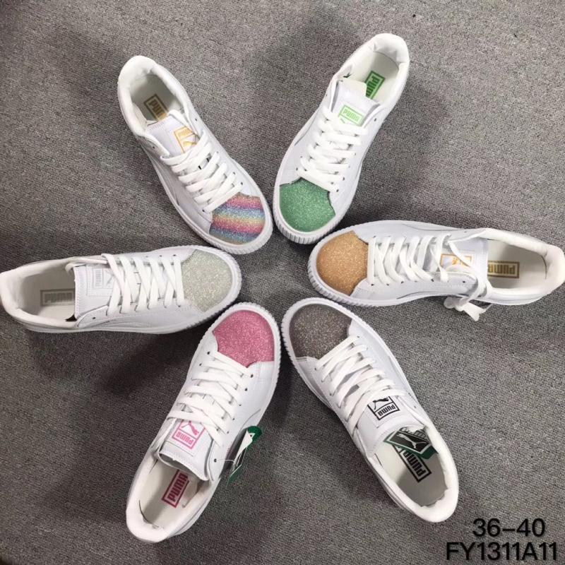 彪馬puma 蕾哈娜厚底簡版松糕二代鞋 運動板鞋 運動鞋 休閑鞋 女鞋