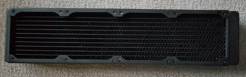 二手 XSPC RX480 高效能水冷排