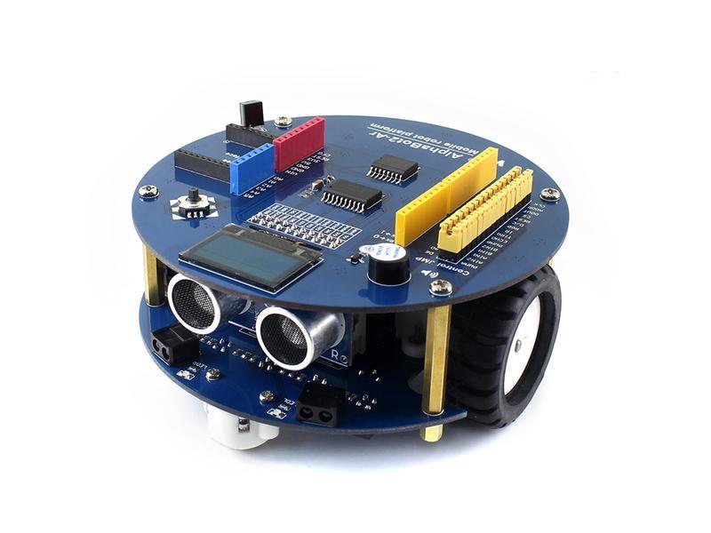 智慧小車機器人配件包 循跡/避障/超聲波測距 相容Arduino 樹莓派 w43 056 [9000067]