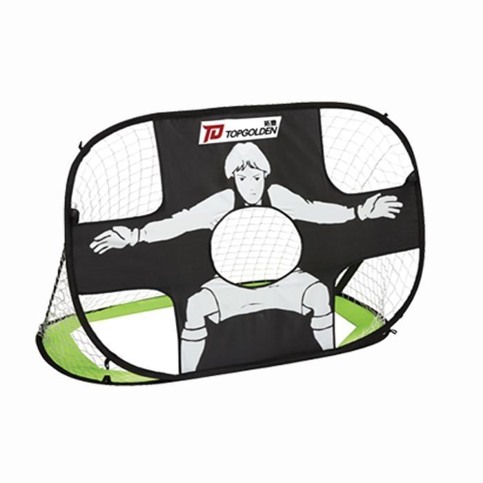 兒童足球門架可折疊便攜式小家用 迷你足球門框網室內外訓練