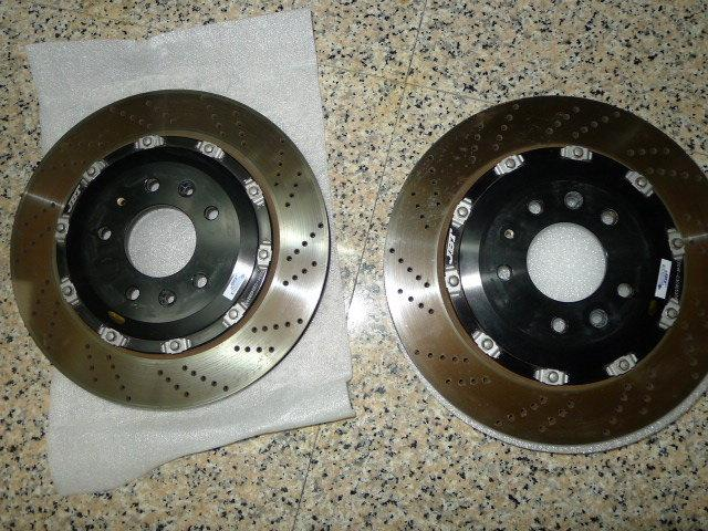 JBT六活塞碟盤~馬六2.3S車拆下~附9成新來令片(中古)