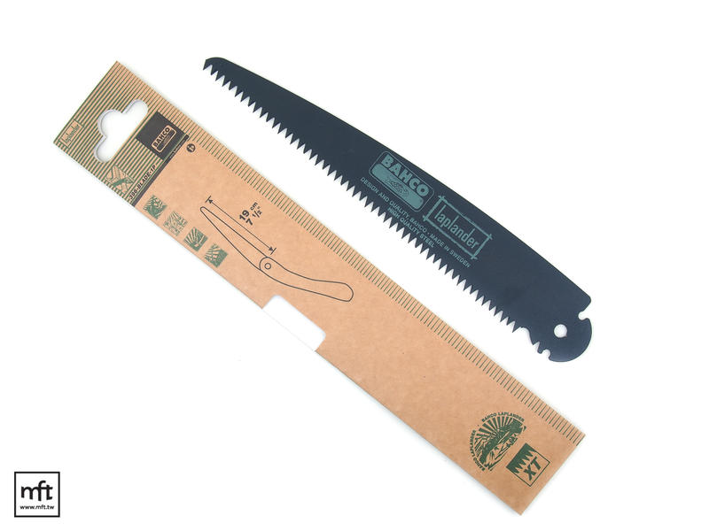 MFT 瑞典 Bahco 396-BLADE 魚牌 黑色塗層 替用鋸片 Laplander Folding Saw 適用
