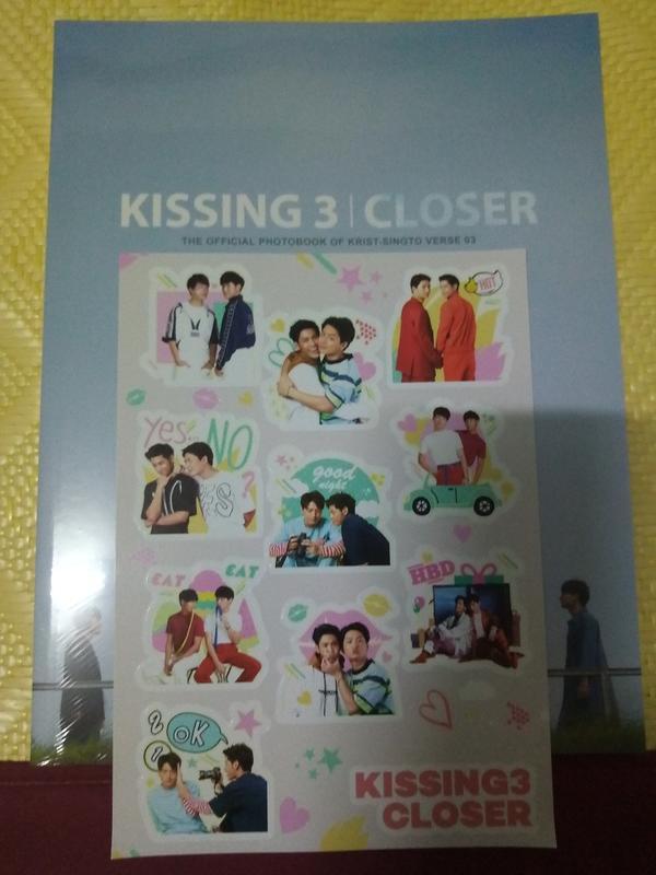 @梅屋@現貨 一年生 Sotus s Singto Krist KISSING 3 CLOSER寫真書泰文版
