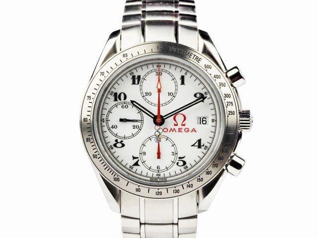賀成交【JDPS 久大御典品 / 名錶專賣】OMEGA歐米茄錶 超霸系列 奧運紀念款 自動 附盒證 編號M060922R