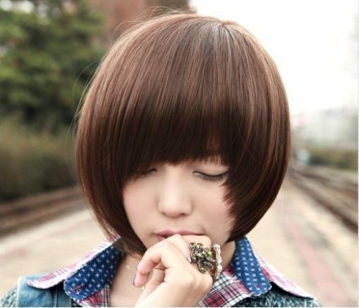 ●魅力十足●時尚氣質流行短假髮/可愛美麗/送髮網 (A25)
