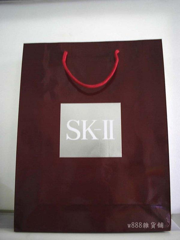 【w888雜貨舖】特賣商品 @ SK-II紙袋(大)@