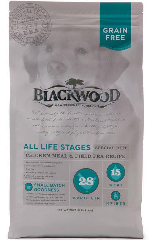 柏萊富 無穀全齡低敏純淨配方(雞肉+豌豆)5磅