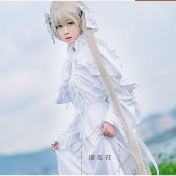 緣之空 春日野穹 穹妹cos服裝兔耳洋裝動漫日常cosplay服裝