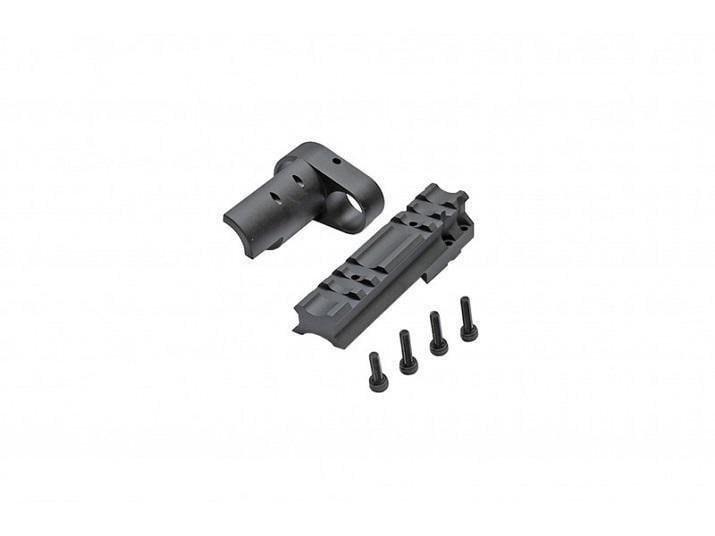 【磐石】RA-TECH FOR WE M14 GBB 鋁合金 上護木魚骨-RAG-WE-048
