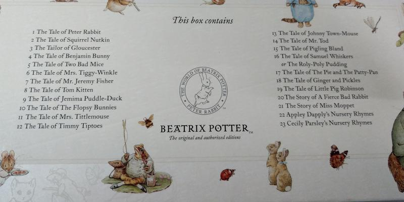 The World of Peter Rabbit Complete Collection1小兔彼得的故事23冊│七成新