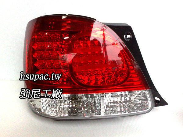 【Little Treasure】全新凌志 LEXUS GS300 紅白晶鑽 LED尾燈