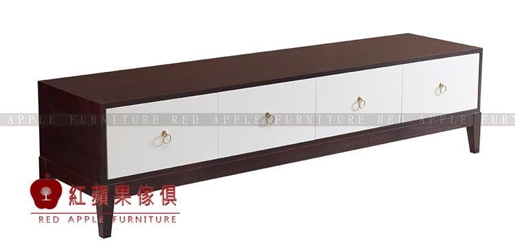 [ 紅蘋果傢俱 ] SLD067 歐式美式系列 電視櫃 儲物櫃 收納櫃 櫃子 數千坪展示