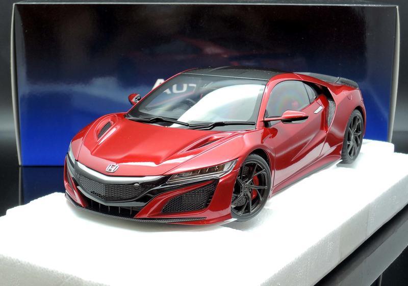 【MASH-2館】現貨特價 Autoart 1/18 Honda NSX (NC1) RHD Red