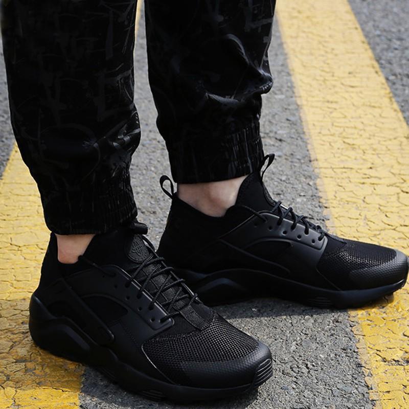 2018 NIKE ROSHE RUN 華萊士四代黑武士 跑步鞋 慢跑鞋