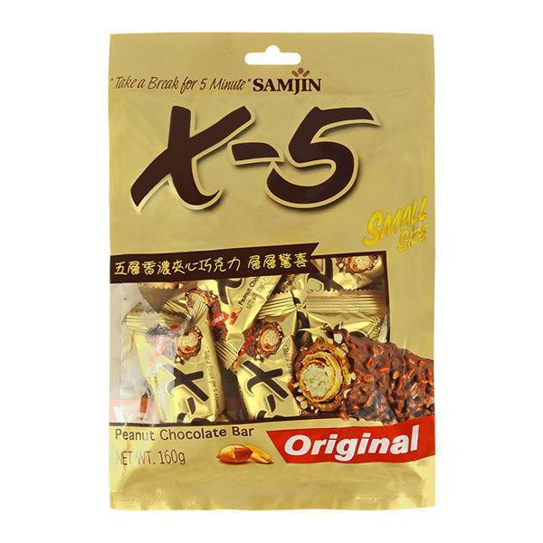 《艾蜜莉小舖》韓國X-5巧克力棒/X5巧克力棒160g