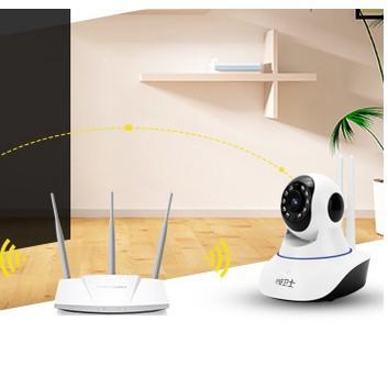 無線網路監控攝像頭夜視wifi家用ip camera1080P攝像機高清
