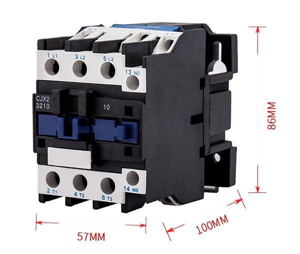 AC110V 交流接觸器 電磁開關 32A CJX2-3210 大電流開關