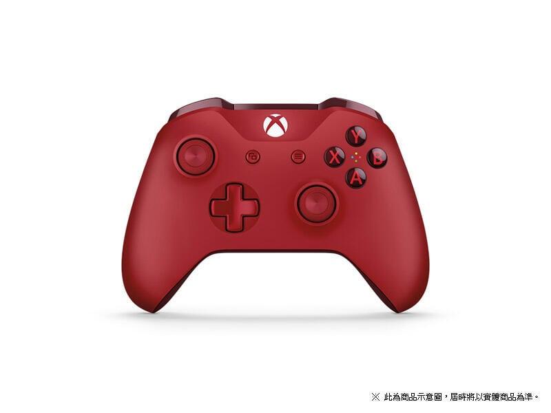 ★小拳王電玩★XBOX ONE 無線控制器 特別版 紅色 公司貨 附發票 保固三個月