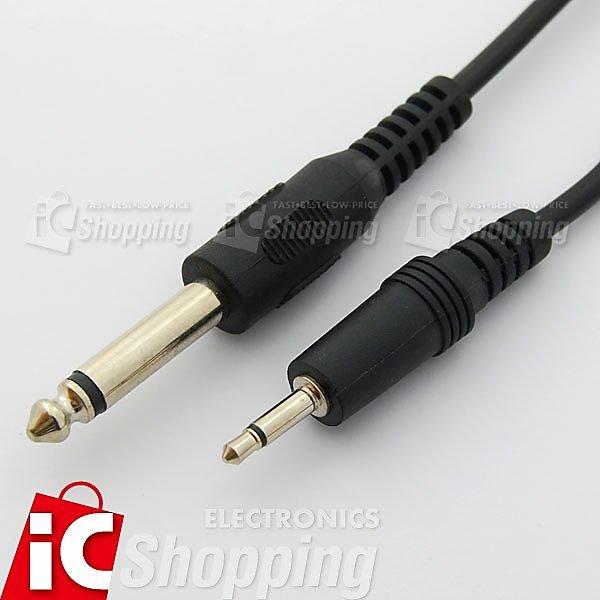 《iCshop1》6.3單音-3.5單音線150cm●368110800016●音源線,擴大機,影音線,傳輸線,限量