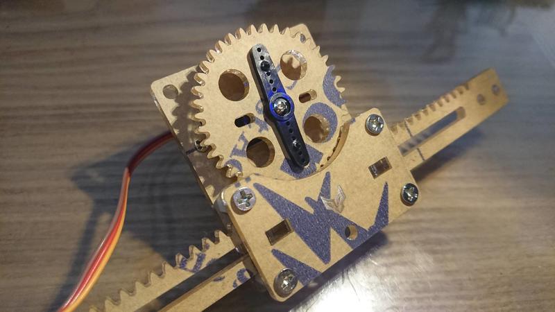 [RWG] Arduino SG90 MG90S 伺服馬達 推桿套件