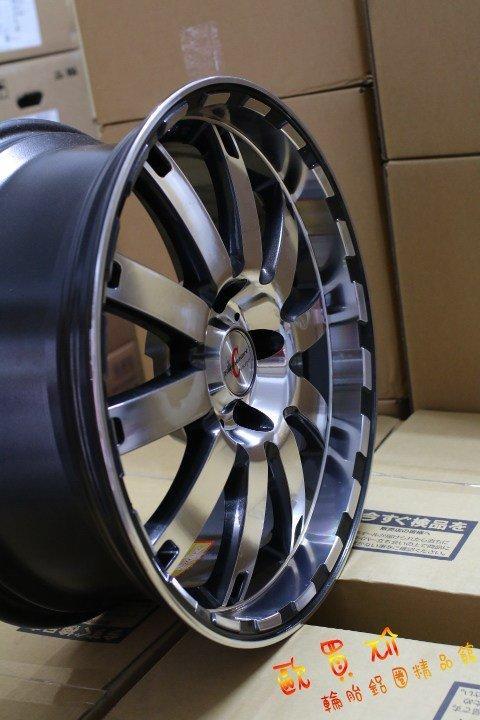 +歐買尬輪胎館+全新H241~18吋深唇鋁圈~8J~ET35~5X120(各式落地胎,中古胎,歡迎洽詢)BMW 3系列