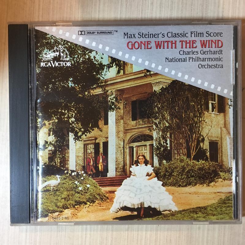 【TAS發燒天碟】Gone With The Wind 亂世佳人電影原聲帶 史坦納經典配樂(RCA早期美版,無IFPI)