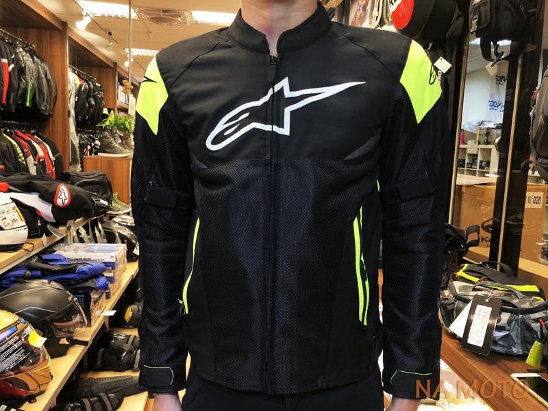 NA MOTO ALPINESTARS AXEL AIR 夏季 防摔衣 透氣 七件式護具 反光條 螢光黃 正公司貨 現貨