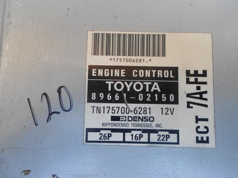 豐田TOYOTA COROLLA 94 95 1.8自排引擎供油電腦行車電腦ECT料號89661-02150 7A-FE