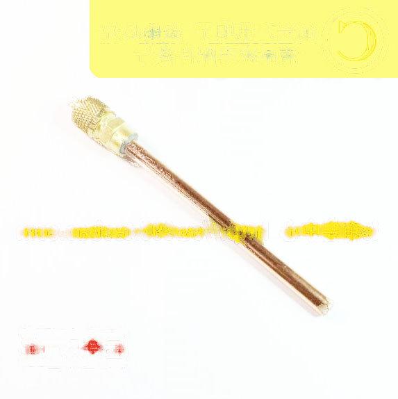 115mm 製冷維修配件/雪種加液閥/單向閥/頂針/針閥/ 1支單價 158-06365