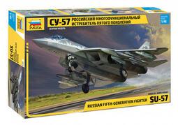 Zvezda 1/48 4824 俄羅斯 SU-57 第五代匿蹤多功能戰鬥機