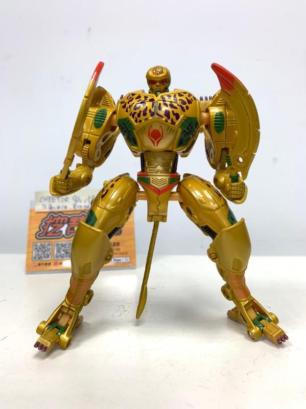 #7【挖寶展示品出清】變形金剛 TITANIUM DIE.CAST CHEETOR 鈦合金
