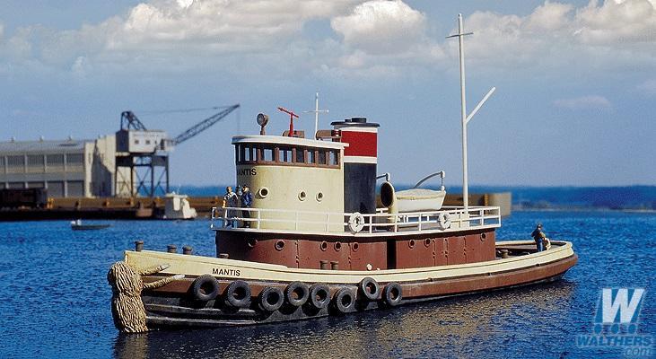 現貨 Walthers 933-3153 HO規 Railroad Tugboat 鐵路拖船
